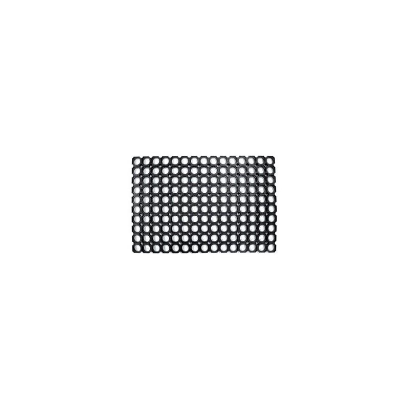 ZERBINO ROBUSTUS COMPONIBILE PVC NERO CM40X70
