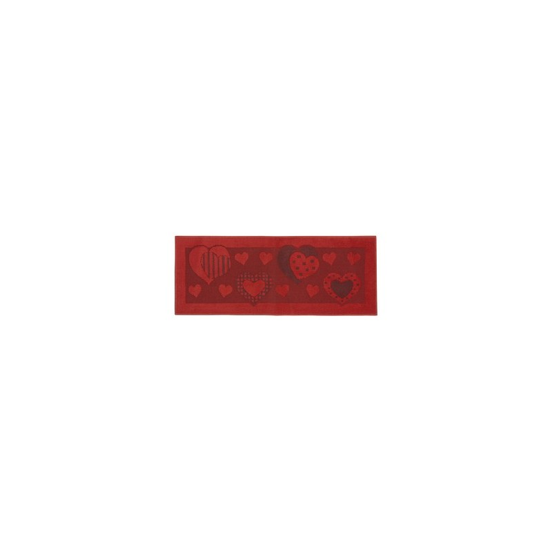 TAPPETO X CUCINE AFRODITE CM.50X80 ROSSO