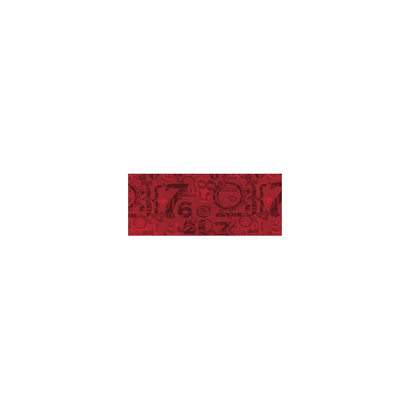 PASSATOIA 'CLOCK' H.50 ROSSO