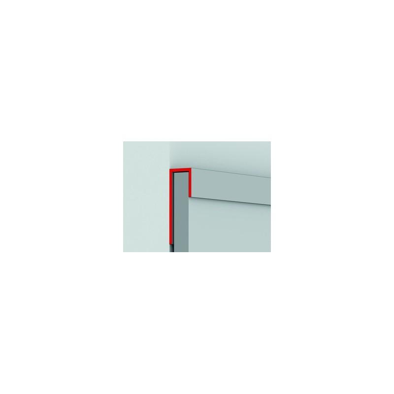 PROFILO TERMINALE A100 CM 300 NOCE