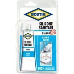 BOSTIK SILICONE BIANCO ML.60