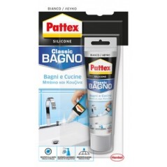 PATTEX SILICONE(SANITARI)BAGNI&CUCINE ML.50