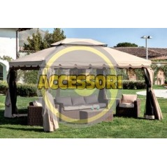SET 4 TELI LATERALI X GAZEBO ADVENTURE MT.3X4