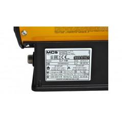MCS BLP17M - Generatore aria calda portatile a gas butano o propano 10-16 kw master -