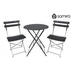 Set tavolo e sedie da giardino pieghevoli MOD. positano