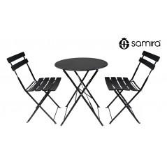 Set tavolo e sedie da giardino pieghevoli