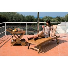 YELLOW BALAU LETTINO LOUNGER ART.SL-620-C1