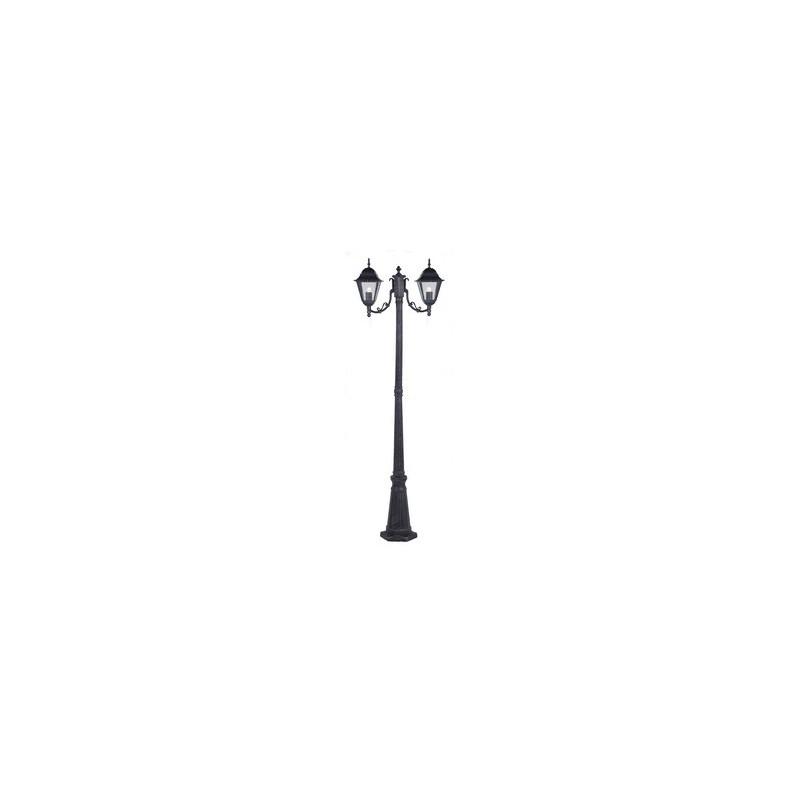 LAMPIONE NEW YORK H CM.200 A 2 LUCI GRIGIO